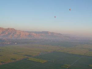 Balloons over the Nile Valley