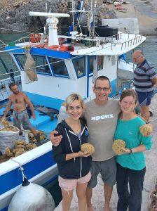 sponge divers